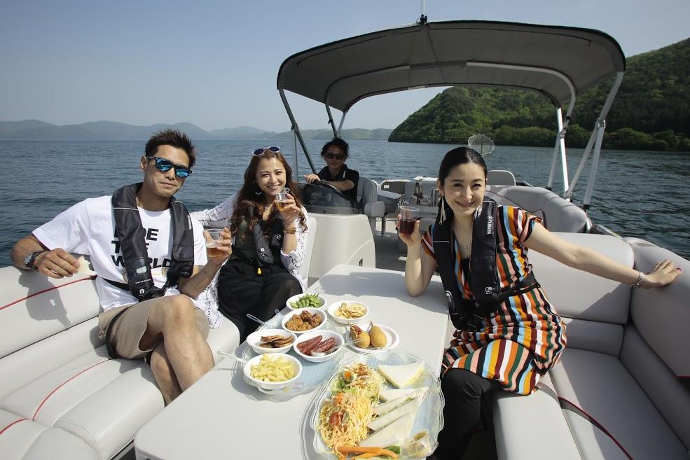 磐マリでパーティーボートをチャーターできます!!